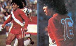 Y con el N° 16: Diego Armando Maradona