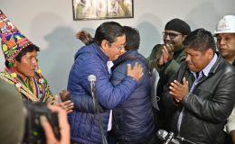 """""""Hemos recuperado la democracia en Bolivia"""""""