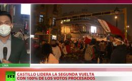 Cachetada a la derecha peruana: Gana Castillo