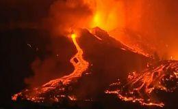 España: erupción del volcán de La Palma