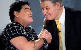 """La despedida de Víctor Hugo al """"amigo Diego"""""""